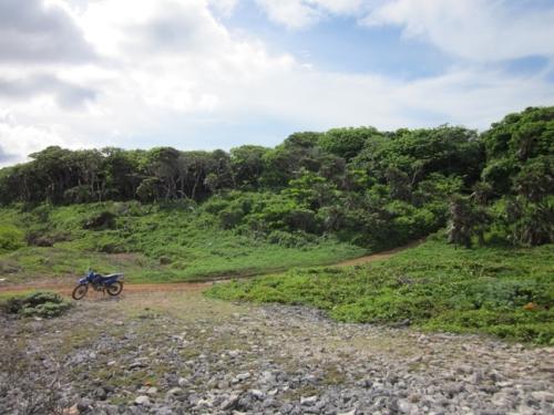 Renting a Motorcycle, Utila, Honduras