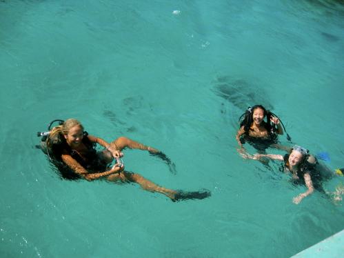 Discover Scuba Diving, Utila, Honduras