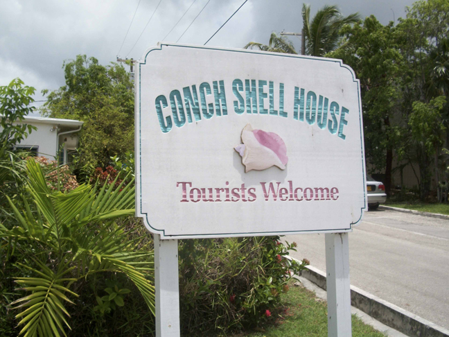 Conch Shell House The Traveling Turtle - Conch-shell-house