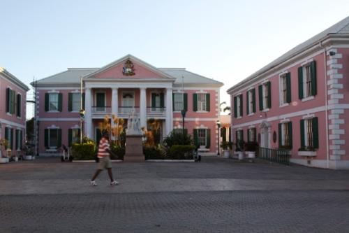 Rawson Square, Nassau, Bahamas