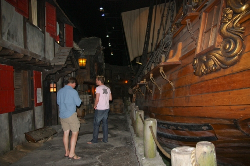 Pirates of Nassau, Bahamas