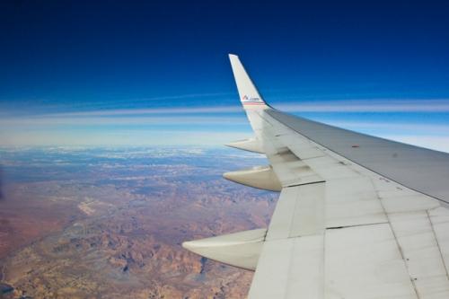 Nevada Plane View