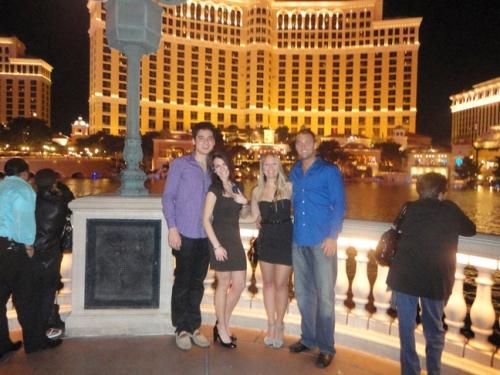 The Bellagio Fountain Las Vegas