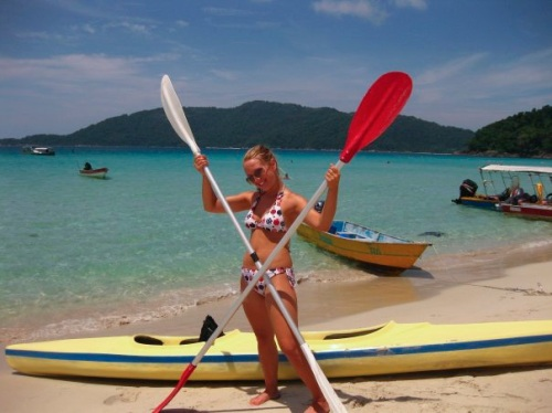 Kayaking Perhentian Islands