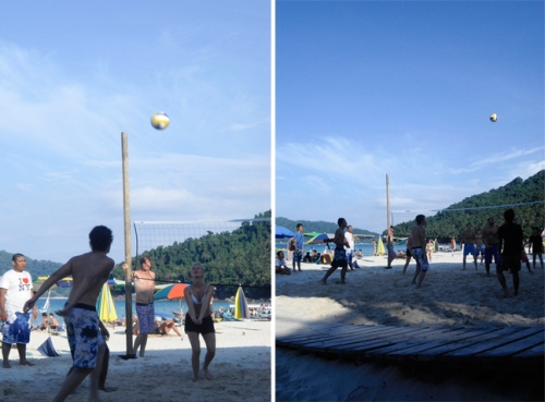 perhentian volleyball