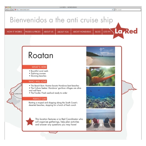 Honduras Tourism Website